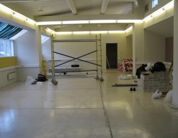 CdB uute ruumide remont