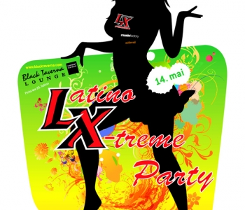 14. mai Latino X-treme party Black tavernas