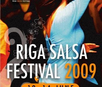 JUBA 41 inimest! Soodushinnaga Riga Salsafestivalile 2009!