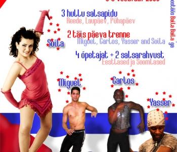 Casa de Baile Baila Fest - kuum kuuba minifestival!!!
