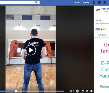 E-R 18:30 online live tantsutrennid