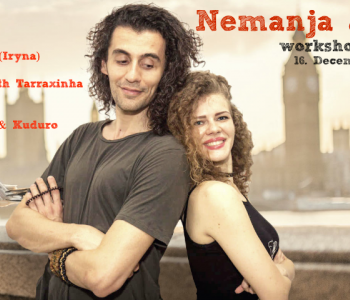 Kizomba laupäev Nemanja & Irynaga 16. detsembril