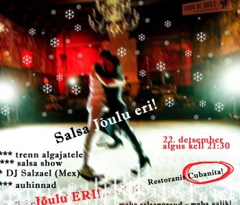 CdB Jõulupidu 22.12 Cubanitas!