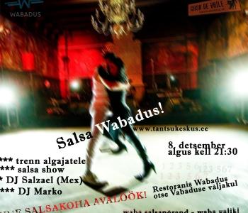 Salsa Wabadus! - uus peokoht kolmapäeviti
