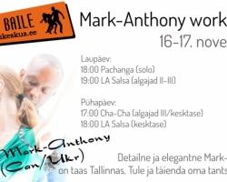 Mark-Anthony workshop 16-17 nov