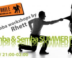 Kizomba/Tarraxhinha workshopid ja pidu L, 3. juunil