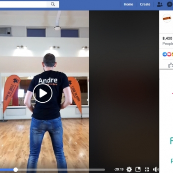 Online live treeningu vabatahtlik pilet