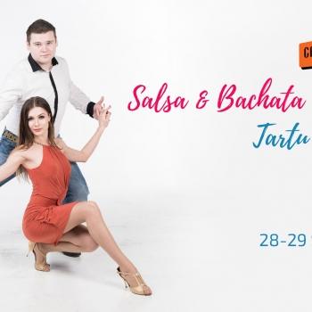 Salsa ja Bachata nädalavahetus Tartus - 6 trenni