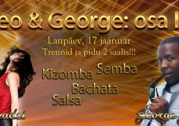 Theo ja George: workshopid ja pidu 2 saalis!