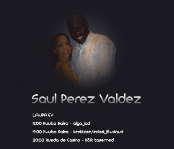 Saul Perez Valdez - Kuuba Salsa workshop